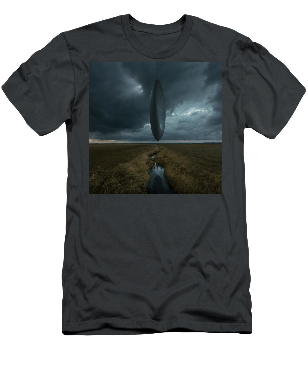 Sciencefiction T-Shirt featuring the photograph Arrival by Michal Karcz