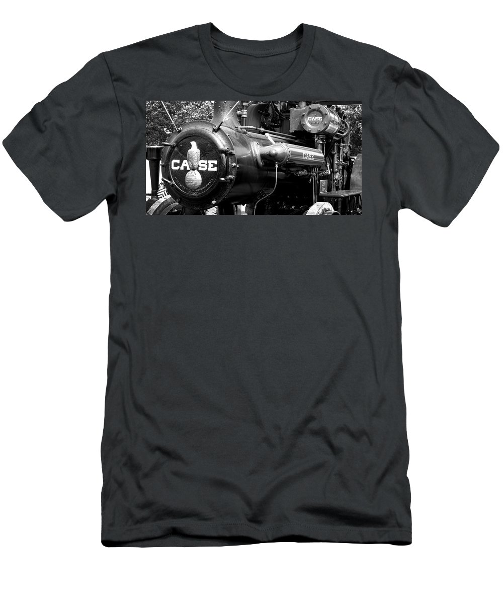 Case Men's T-Shirt (Athletic Fit) featuring the photograph Case Eagle by Paul W Faust - Impressions of Light