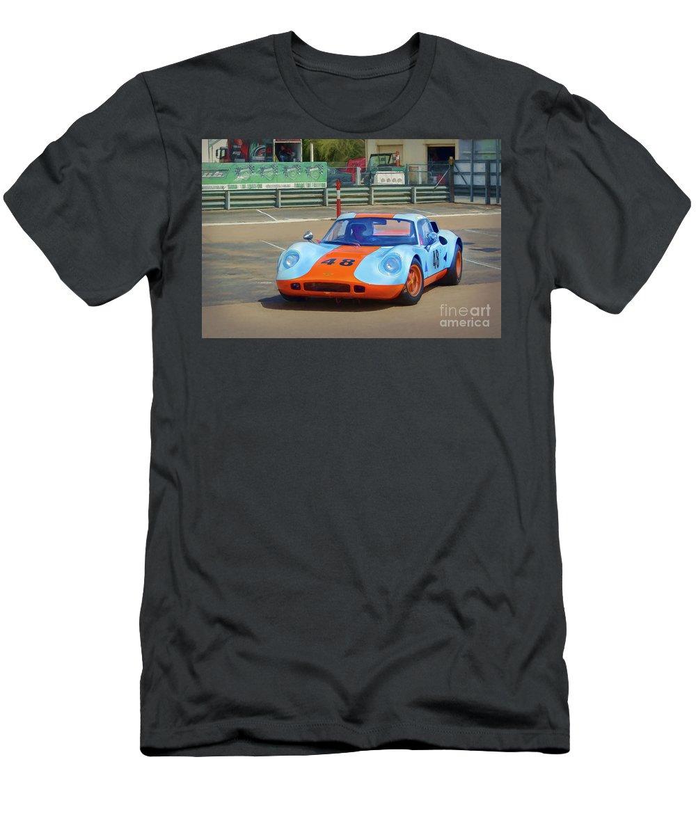 Chevron Men's T-Shirt (Athletic Fit) featuring the photograph Chevron B8 by Stuart Row