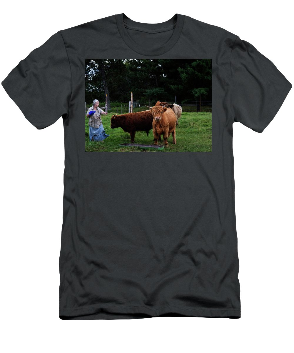Highland T-Shirt featuring the photograph Highlands by Cynthia Dickinson