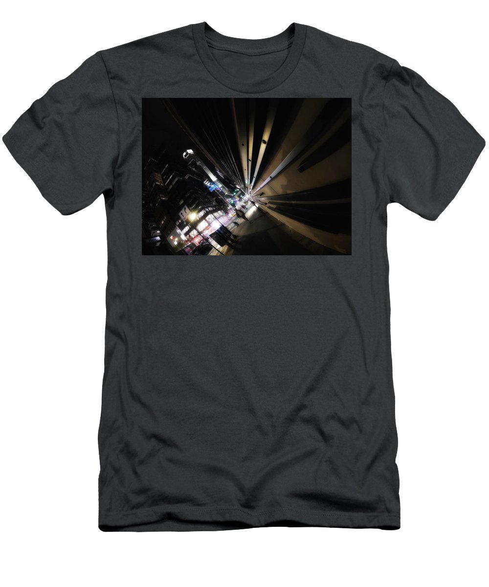 New York City Men's T-Shirt (Athletic Fit) featuring the digital art New York City 2018 Xiv by Tina Baxter