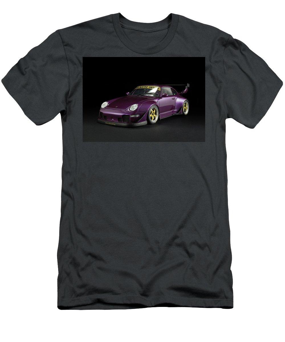 Porsche Rwb 993 Rauh Welt Mens T Shirt Athletic Fit