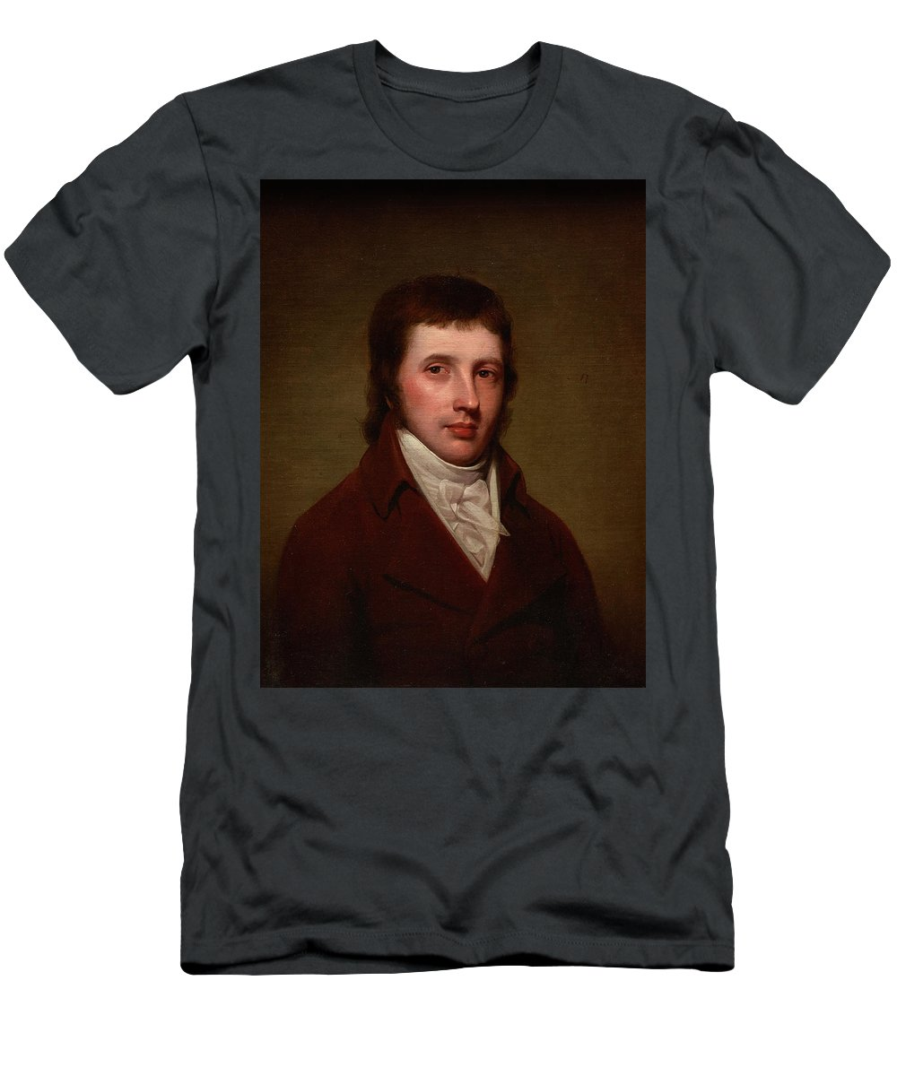 Portrait Of A Man T-Shirt featuring the painting Portrait Of A Man by Rembrandt Peale