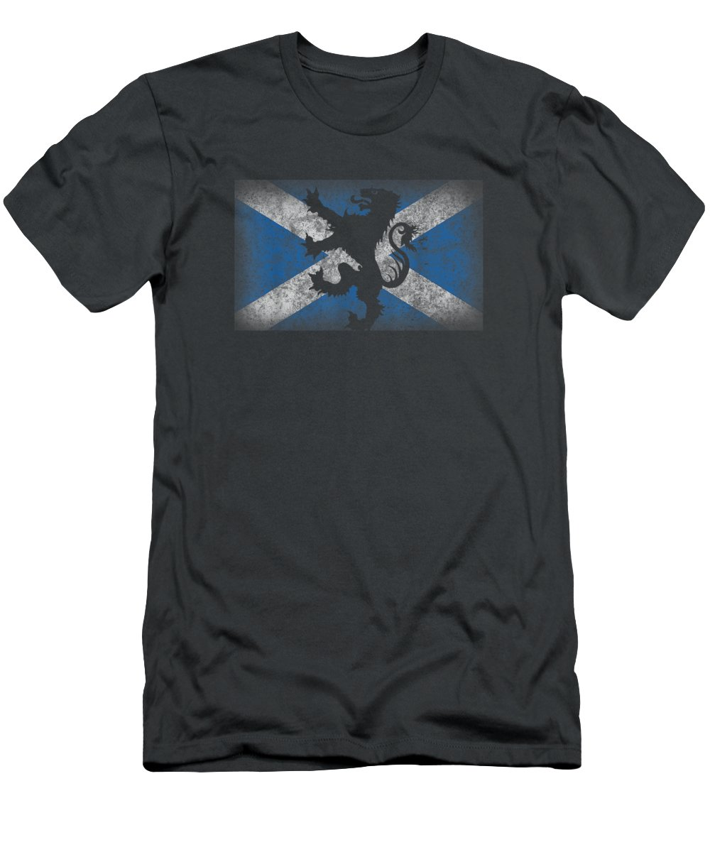 girls' Novelty Clothing T-Shirt featuring the digital art Scotland Flag Lion Rampant Shirt Scottish Pride Gift by Do David