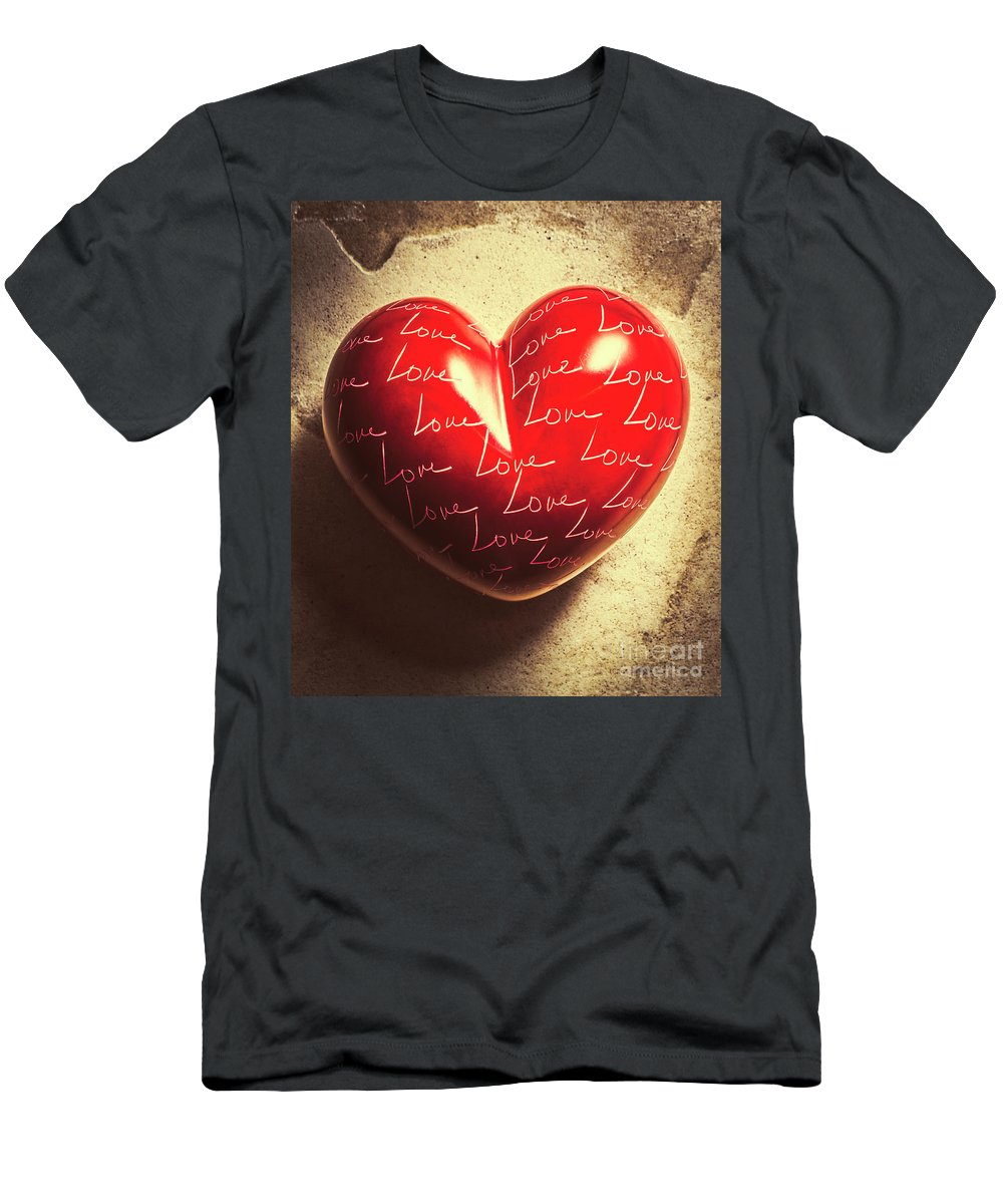Romantic Men's T-Shirt (Athletic Fit) featuring the photograph Sentimental by Jorgo Photography - Wall Art Gallery