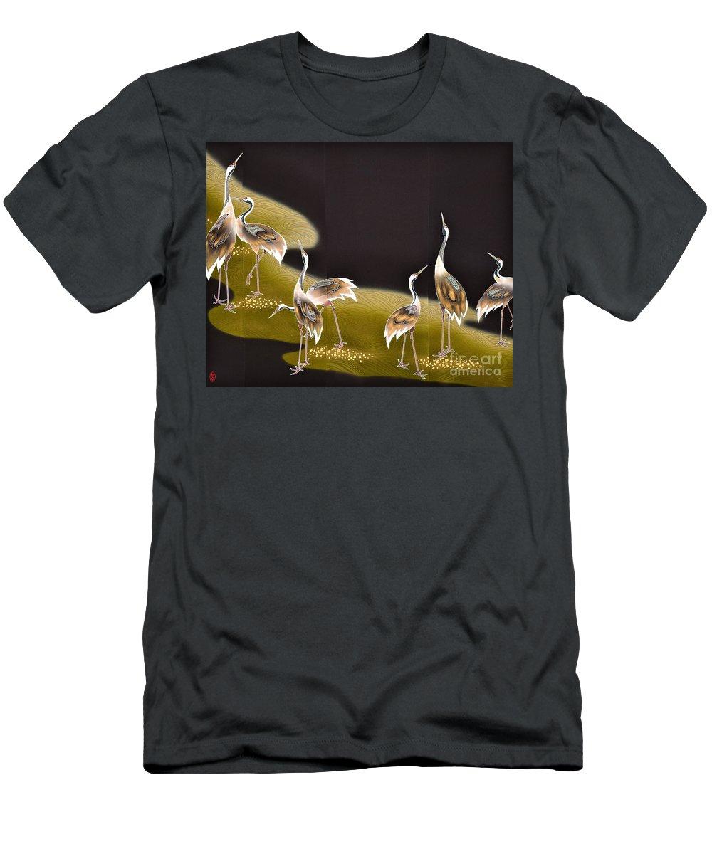 T-Shirt featuring the digital art Spirit of Japan T8 by Miho Kanamori