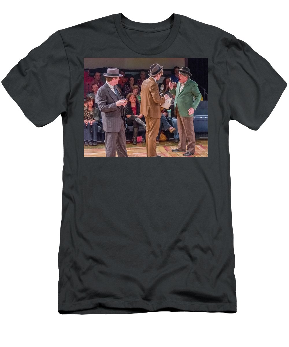 Broadway T-Shirt featuring the photograph State Fair by Alan D Smith