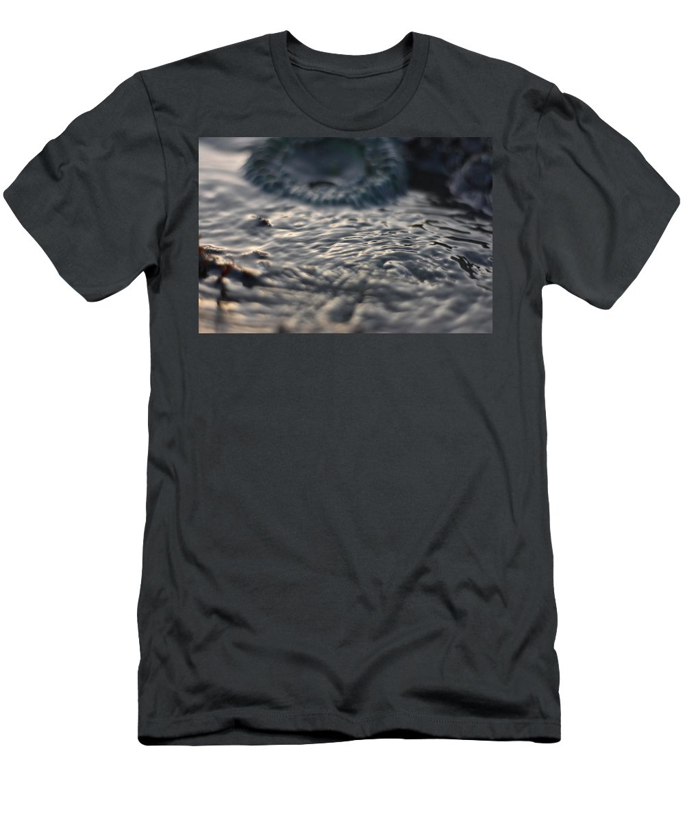 Ocean Men's T-Shirt (Athletic Fit) featuring the photograph Tide Pool by Adam Trimble