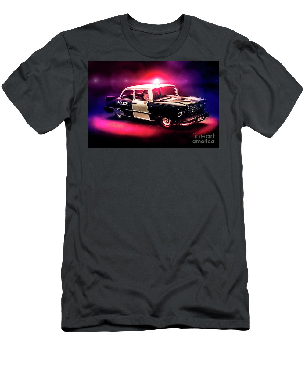 Retro T-Shirt featuring the photograph Tin Force by Jorgo Photography - Wall Art Gallery