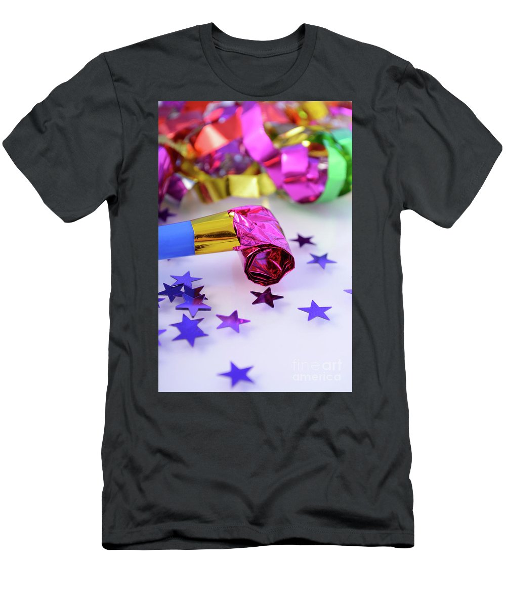 Bright New Year Party Decorations. T-Shirt for Sale by ...