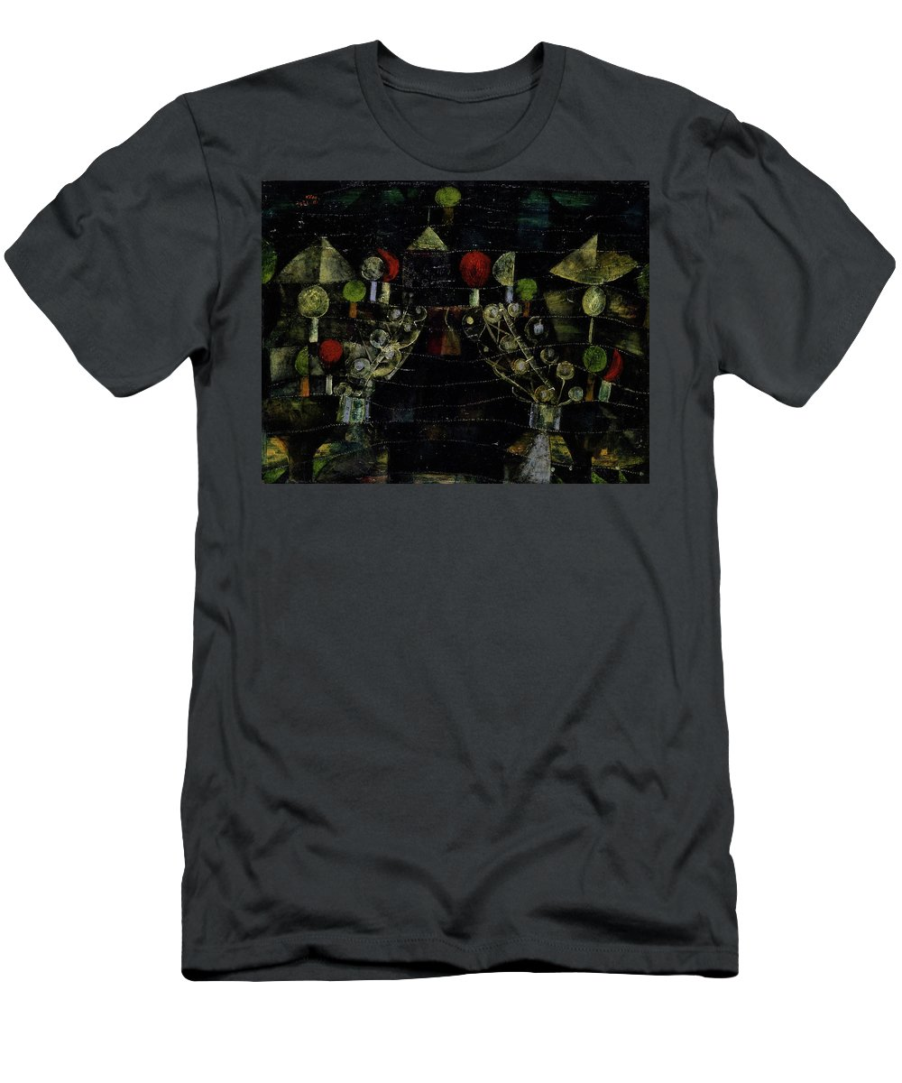 Paul Klee T-Shirt featuring the painting Women's Pavilion by Paul Klee