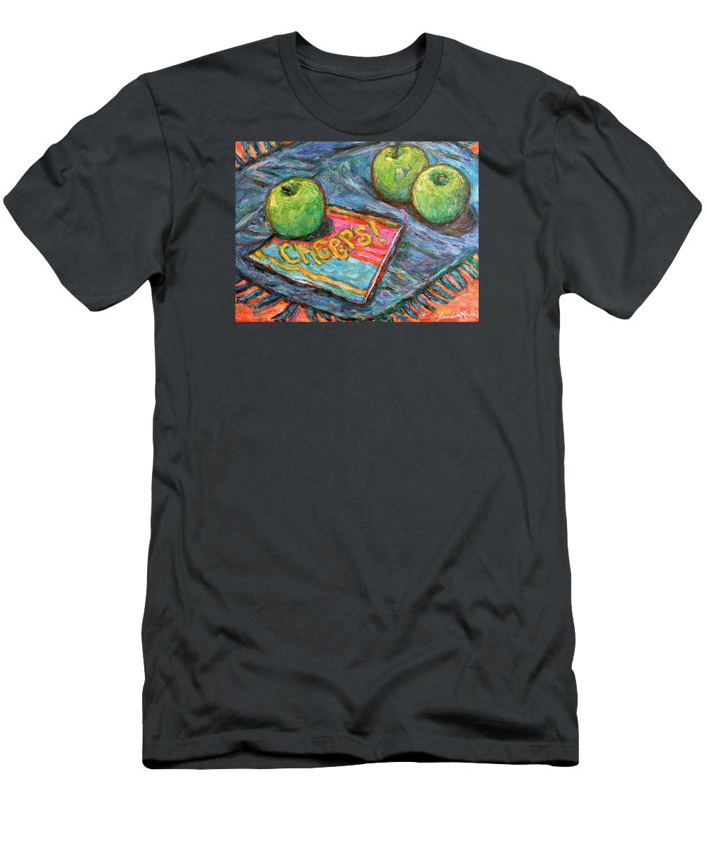 Still Life T-Shirt featuring the painting Cheers by Kendall Kessler