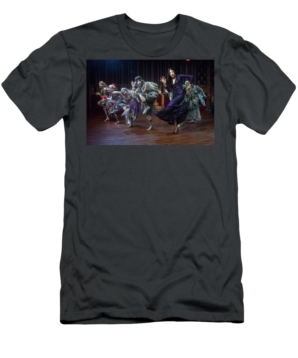 Adams Family T-Shirt featuring the photograph Dance With The Relatives by Alan D Smith