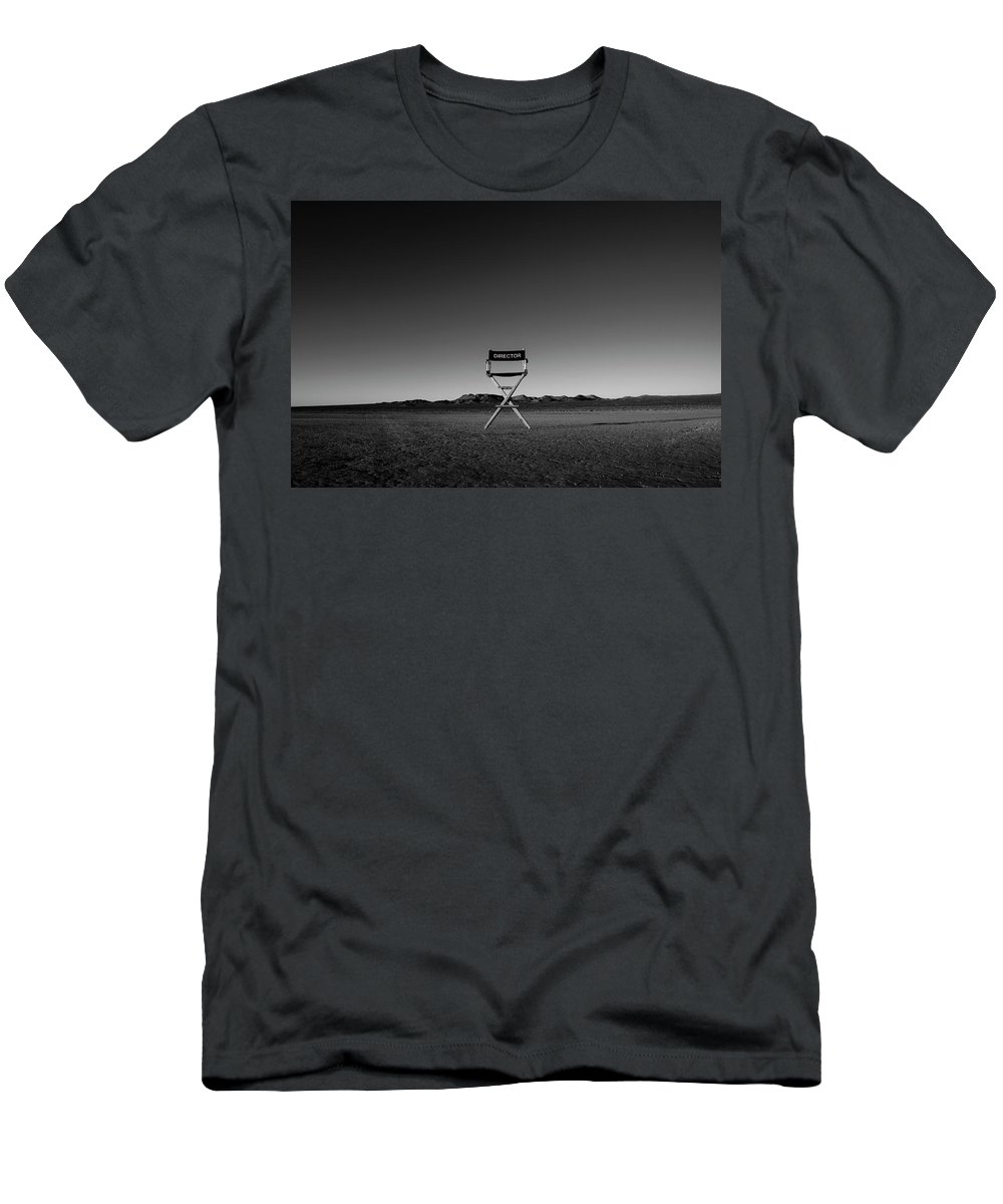 T-Shirt featuring the photograph Director's Cut by Brendan North