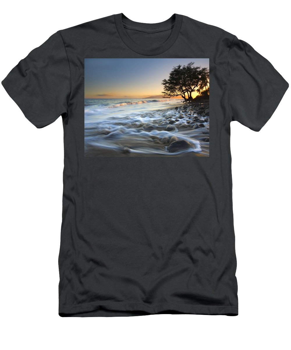 Sea T-Shirt featuring the photograph Ebb and Flow by Mike Dawson