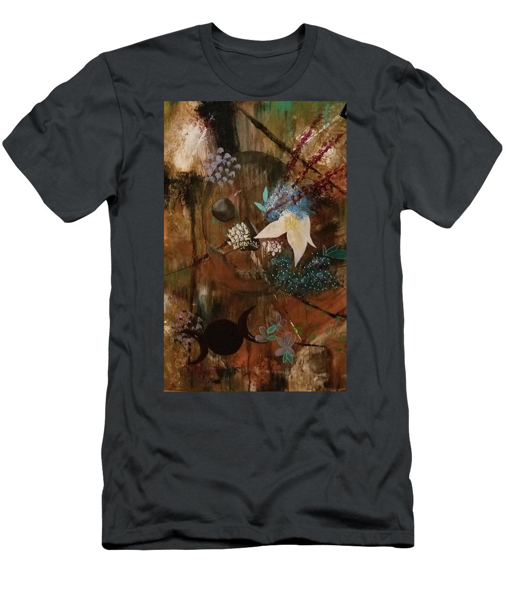 Death Life Hekate T-Shirt featuring the painting Eternal by Valerie Josi