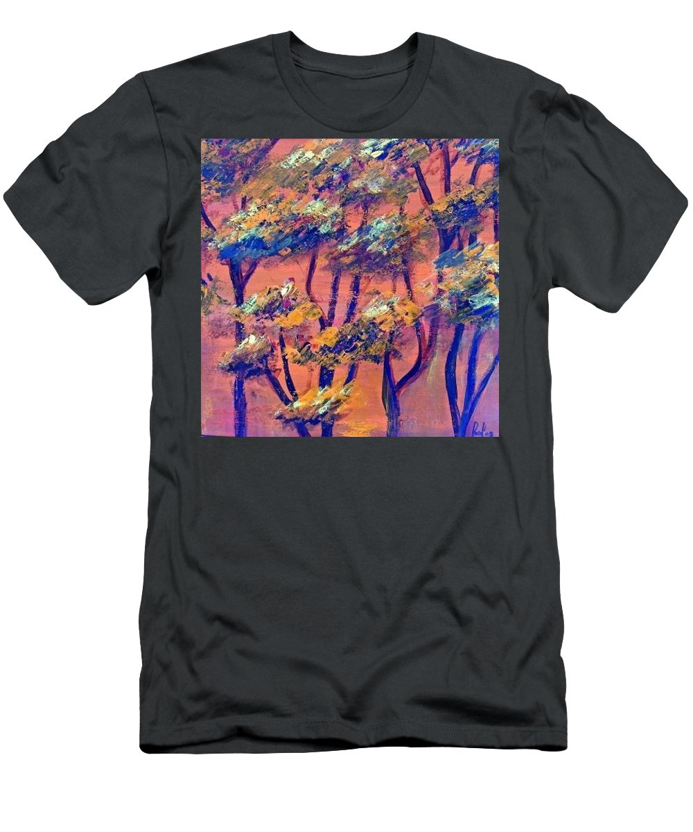 Orange T-Shirt featuring the painting Just rees by Carol P Kingsley