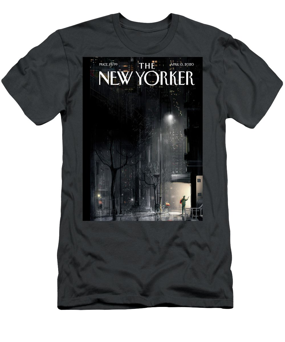 Lifeline T-Shirt featuring the painting Lifeline by Pascal Campion