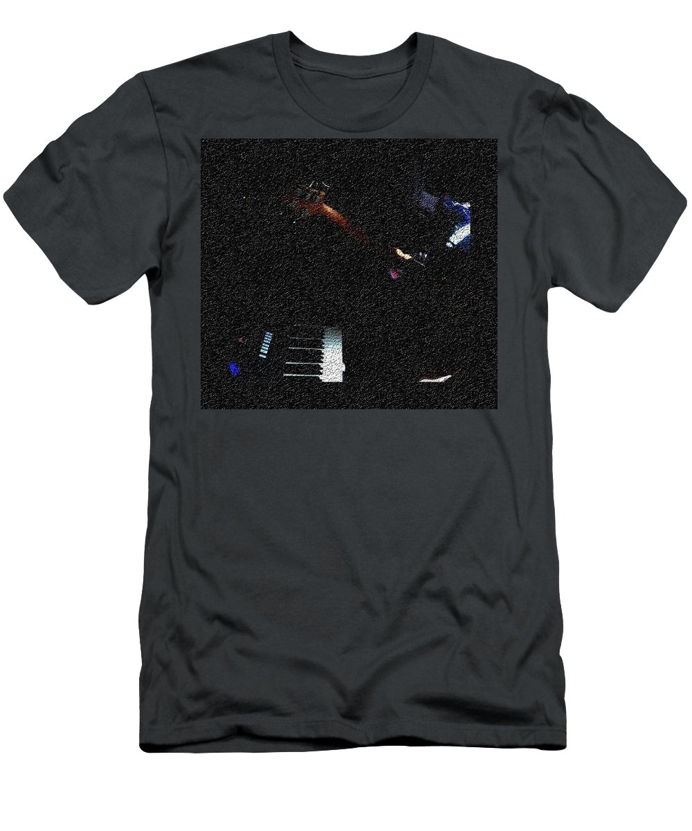 Music T-Shirt featuring the photograph Music is Peace by Chinasa Nwaorisa