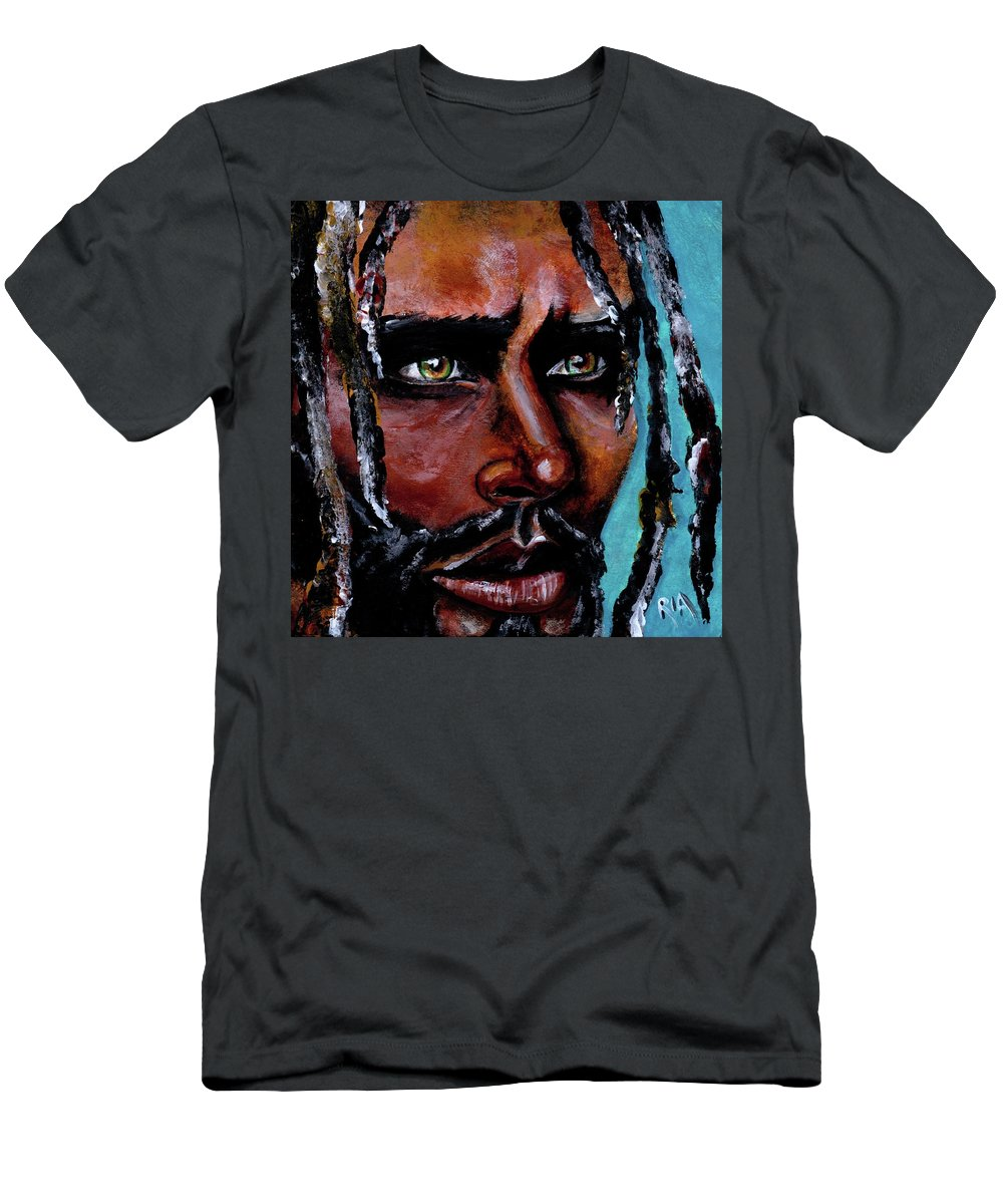 Eyes T-Shirt featuring the painting Selfless Life by Artist RiA