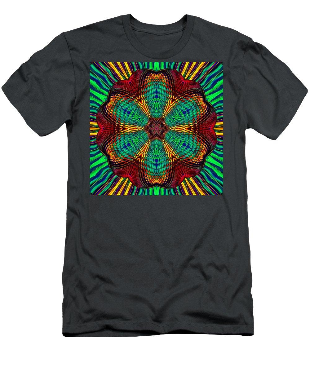 T-Shirt featuring the digital art Tesla's Design by Steve Solomon