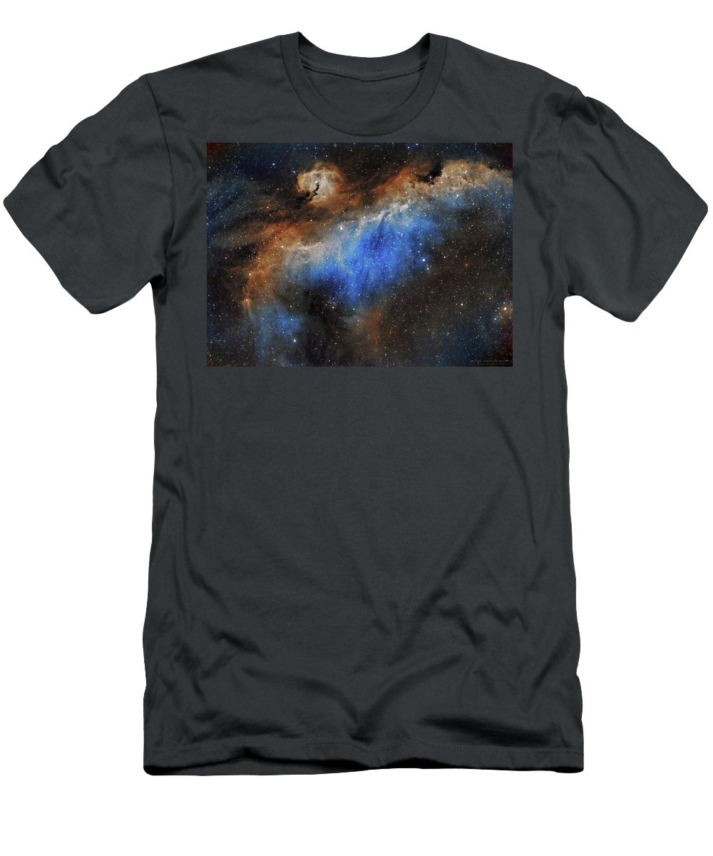 Astronomy T-Shirt featuring the photograph The Seagull Nebula by Prabhu Astrophotography