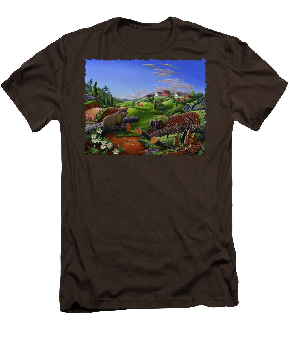 Groundhog Slim Fit T-Shirts