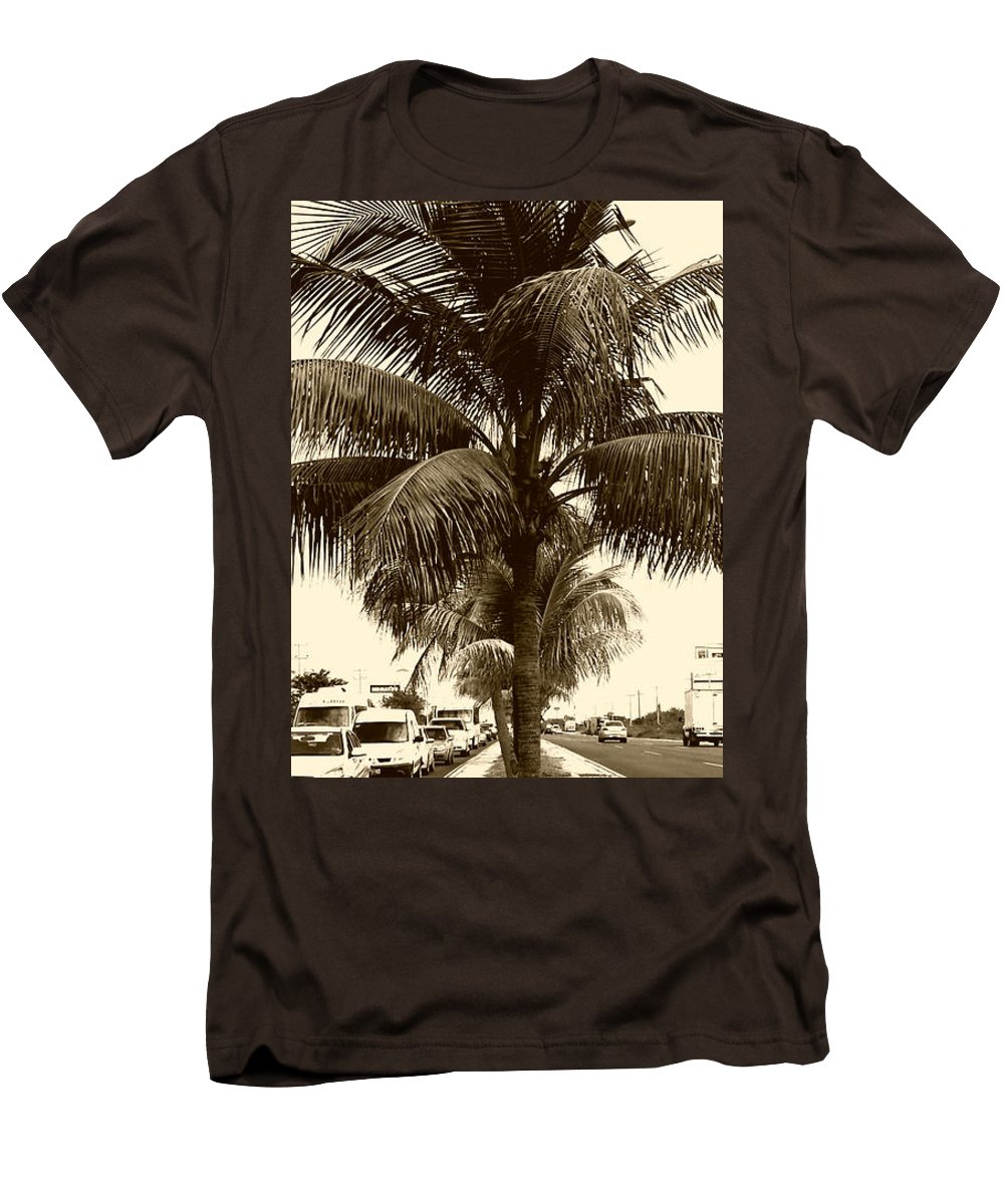Rush Hour In Cancun Slim Fit T Shirt For Sale By Geoff