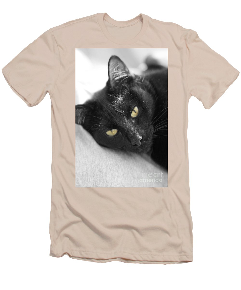 Caspian Men's T-Shirt (Athletic Fit) featuring the photograph Caspian by Amanda Barcon