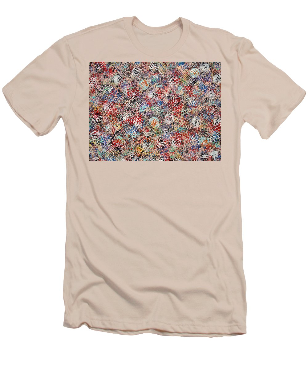 Golf Men's T-Shirt (Athletic Fit) featuring the painting Golf by Natalie Holland