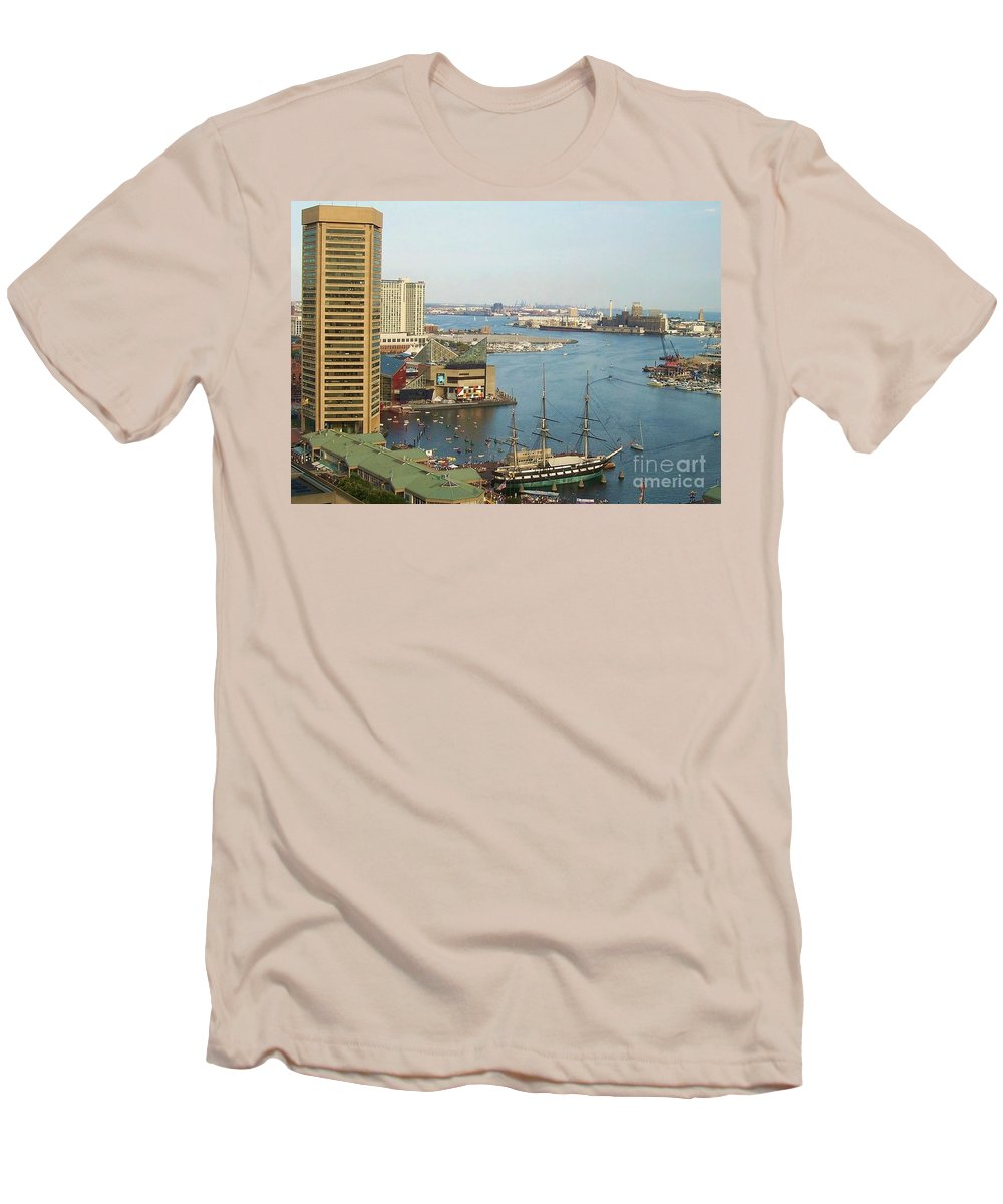 Baltimore Men's T-Shirt (Athletic Fit) featuring the photograph Baltimore by Debbi Granruth