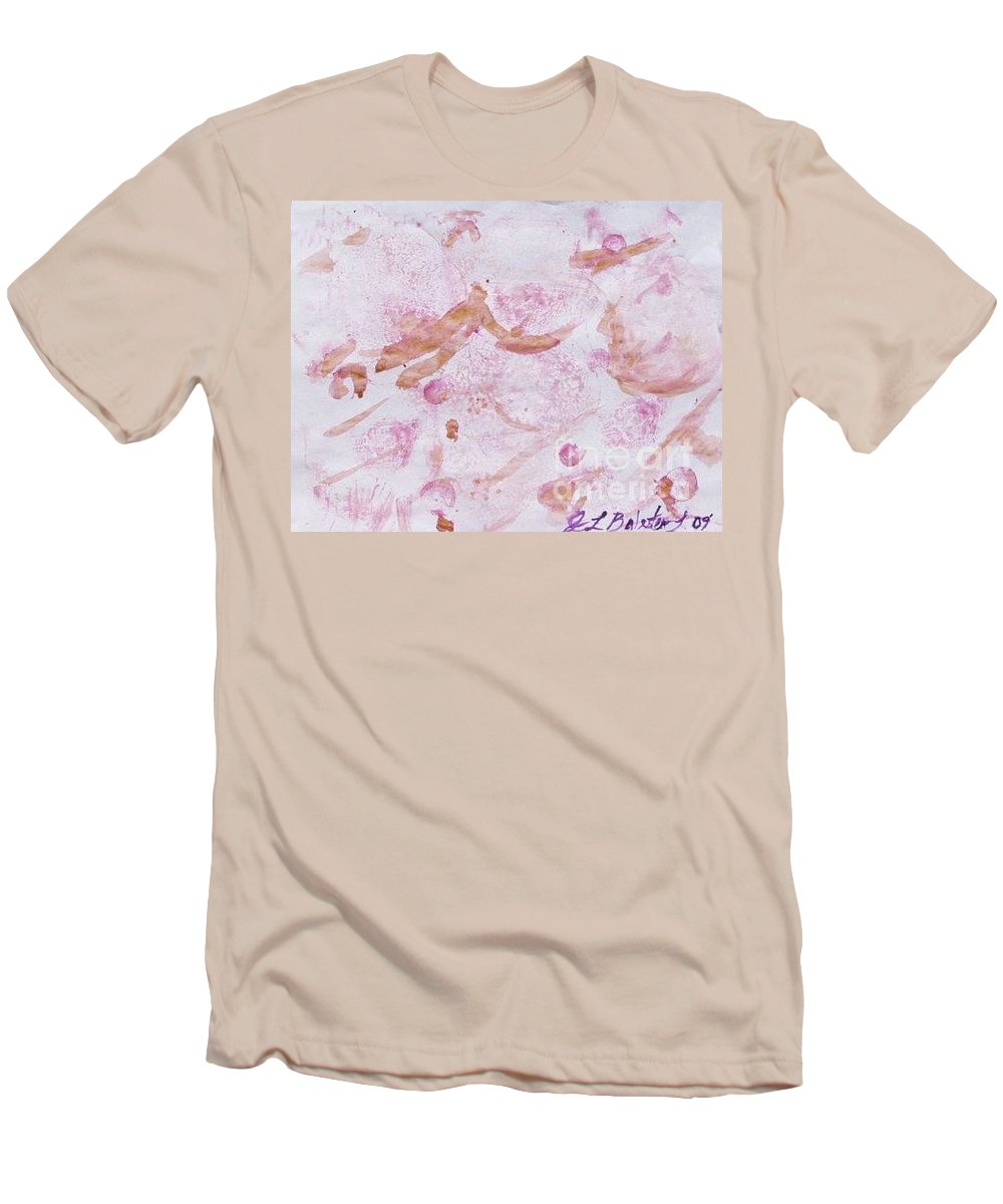 Organic Men's T-Shirt (Athletic Fit) featuring the painting Abstract- Vegetable Beet Print by Jamey Balester