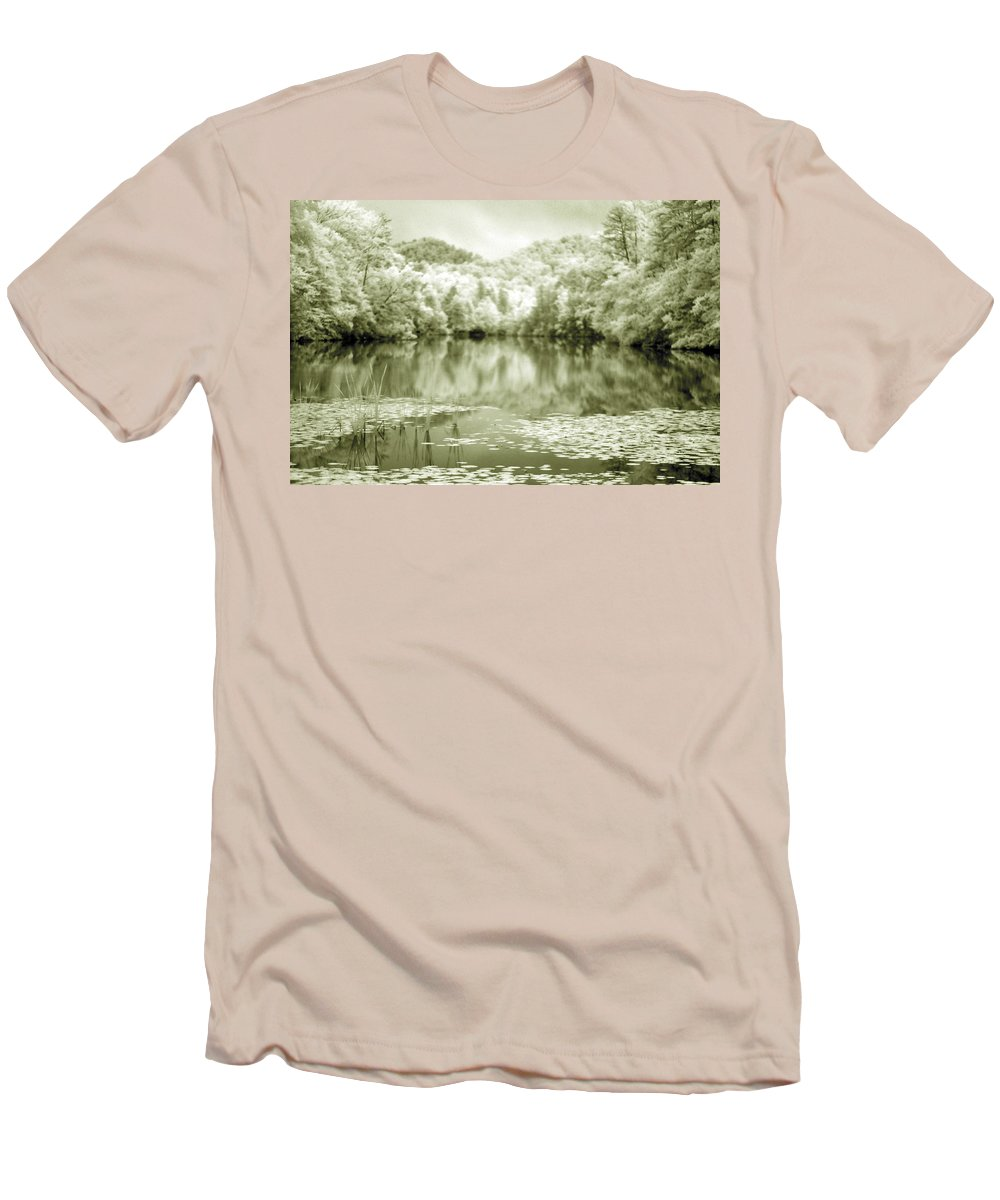 Infrared Men's T-Shirt (Athletic Fit) featuring the photograph Another World by Alex Grichenko