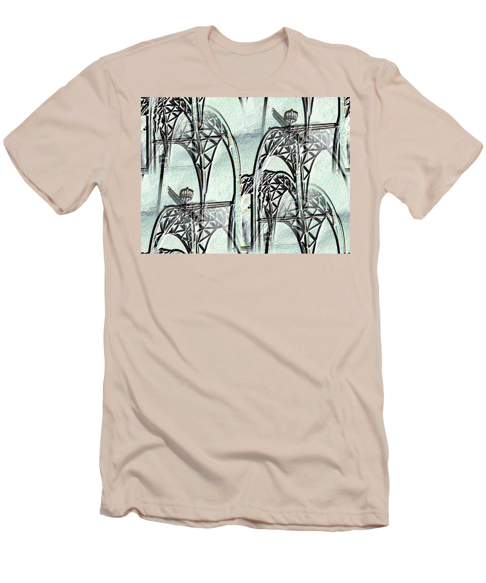 Seattle Men's T-Shirt (Athletic Fit) featuring the photograph Arches 4 by Tim Allen