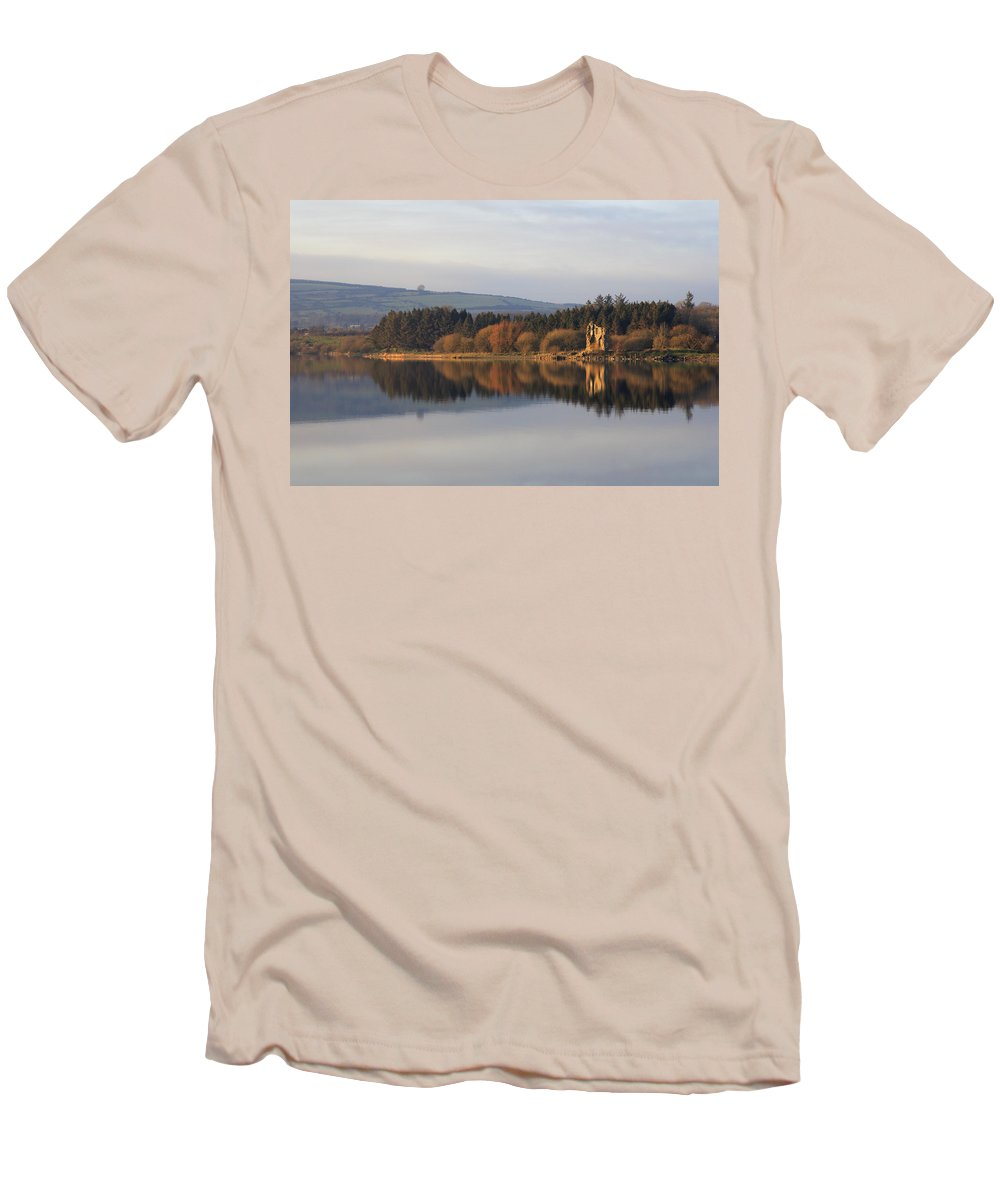 Lake Men's T-Shirt (Athletic Fit) featuring the photograph Blessington Lakes by Phil Crean