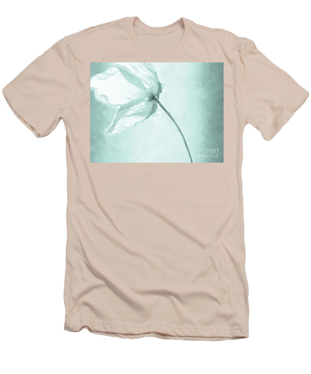 Flower Men's T-Shirt (Athletic Fit) featuring the painting Breeze by Jacky Gerritsen