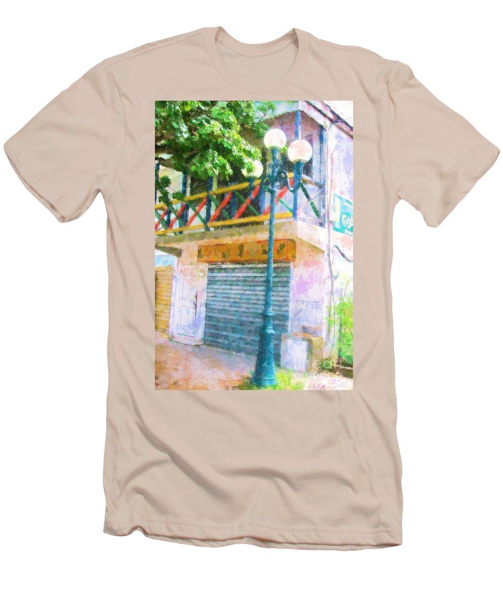St. Martin Men's T-Shirt (Athletic Fit) featuring the photograph Cest La Vie by Debbi Granruth