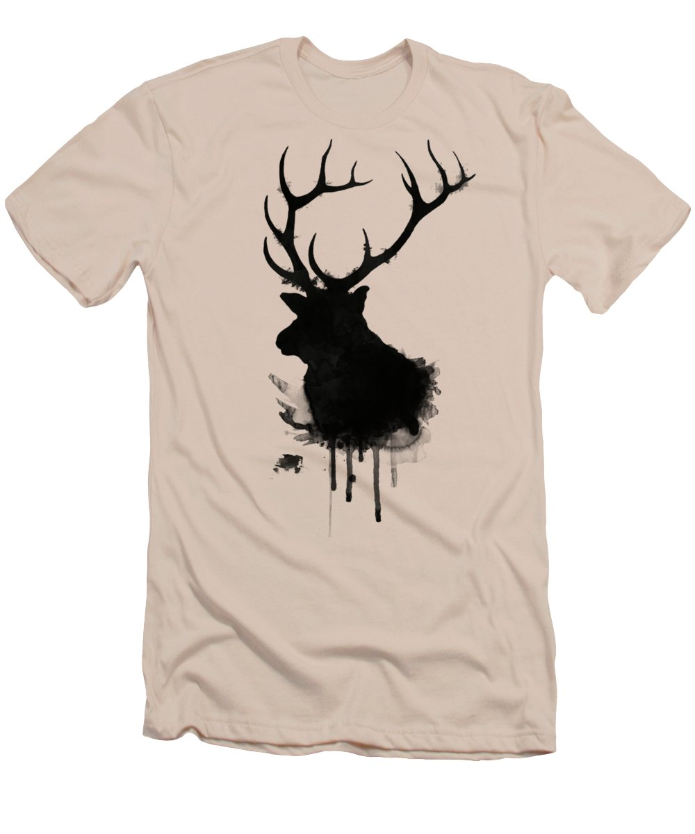 Deer Slim Fit T-Shirts