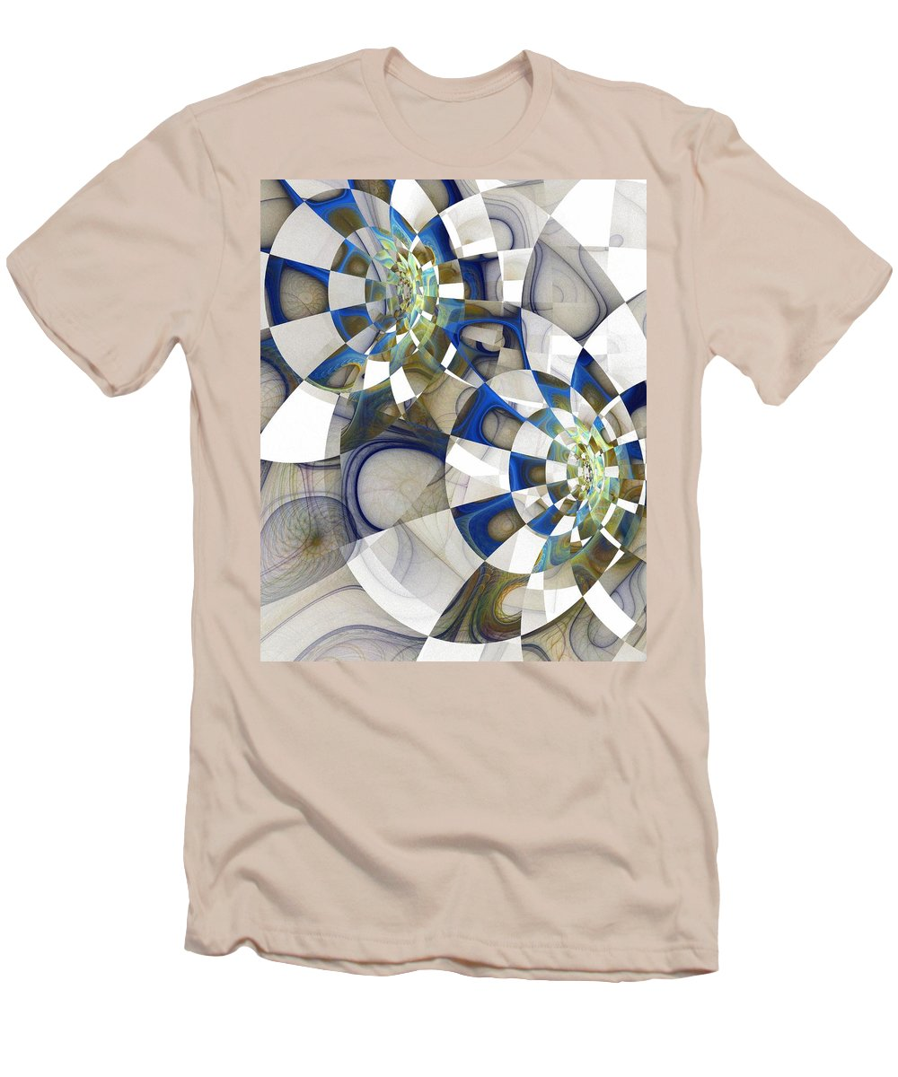 Digital Art Men's T-Shirt (Athletic Fit) featuring the digital art Flight by Amanda Moore
