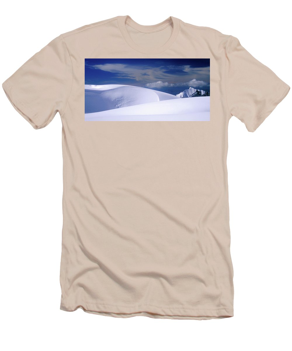 Alone Men's T-Shirt (Athletic Fit) featuring the photograph Harmony by Konstantin Dikovsky