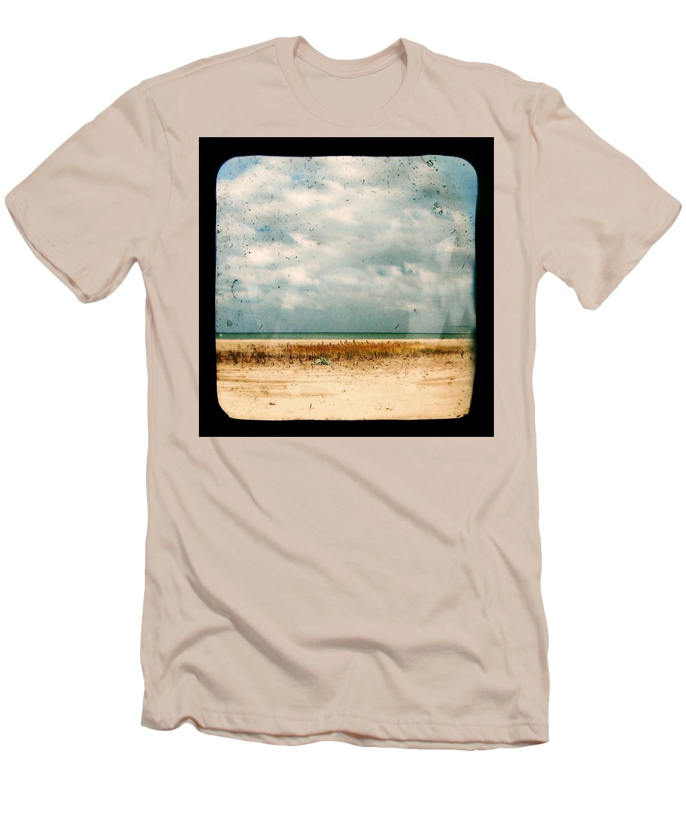 Dipasquale Men's T-Shirt (Athletic Fit) featuring the photograph I Honestly Believed by Dana DiPasquale