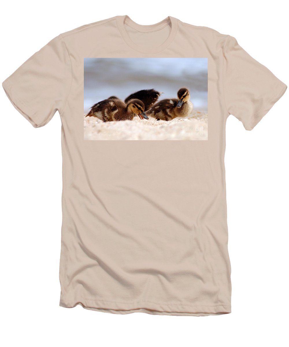 Clay Men's T-Shirt (Athletic Fit) featuring the photograph Kids Will Play by Clayton Bruster