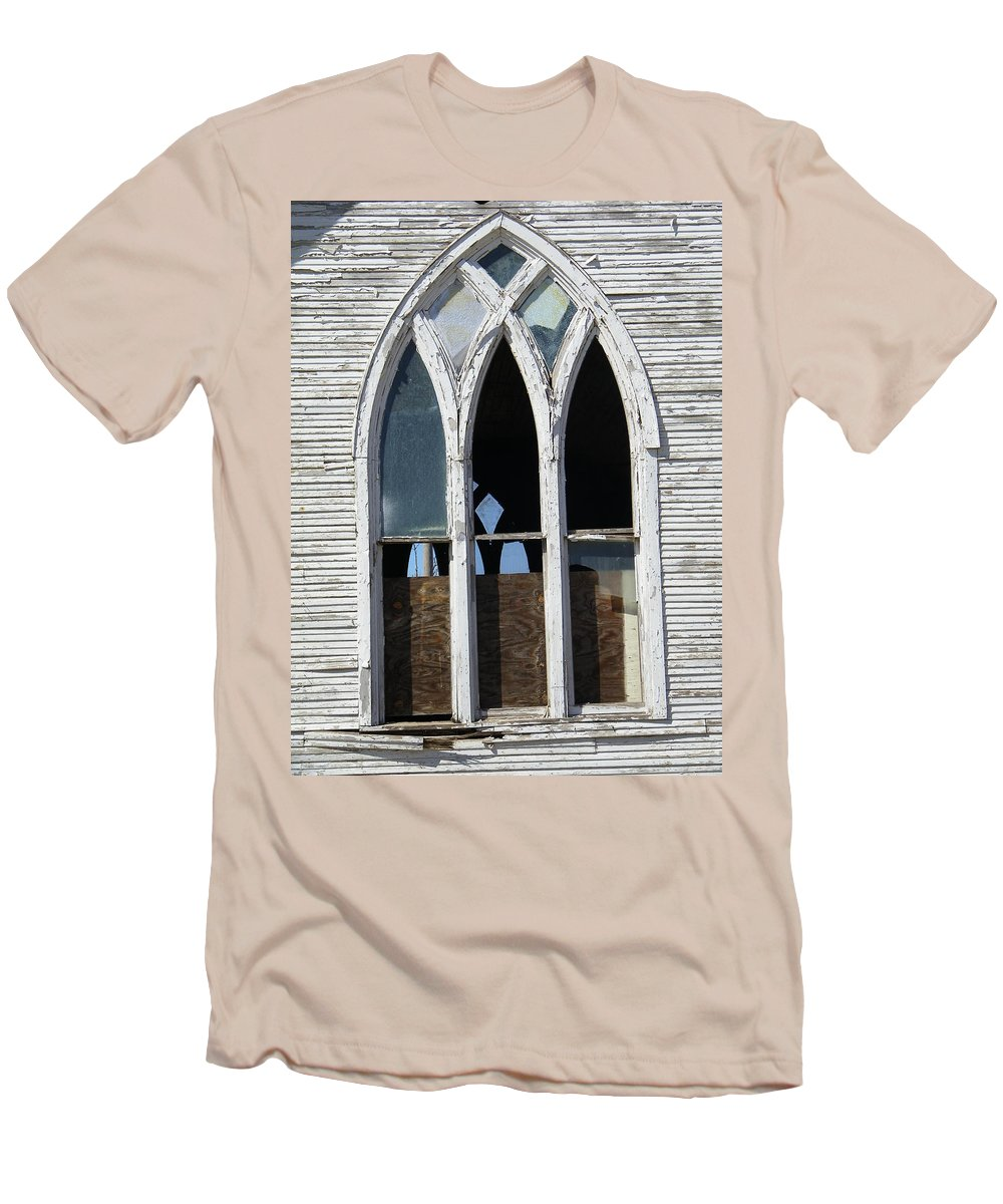 Church Men's T-Shirt (Athletic Fit) featuring the photograph Lost by Gale Cochran-Smith