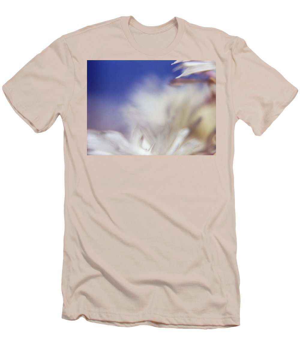 Flower Men's T-Shirt (Athletic Fit) featuring the photograph Macro Flower 1 by Lee Santa