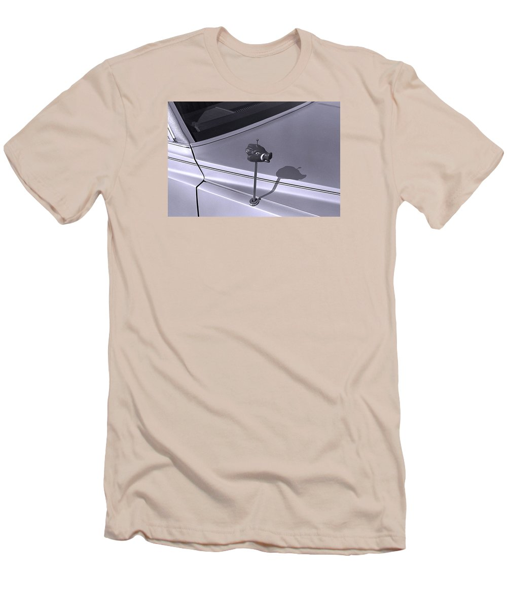 Primitive Men's T-Shirt (Athletic Fit) featuring the photograph Modern Primitive by Ted M Tubbs
