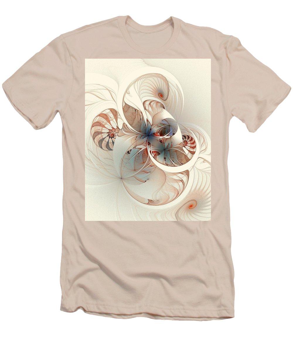 Men's T-Shirt (Athletic Fit) featuring the digital art Mollusca by Amanda Moore