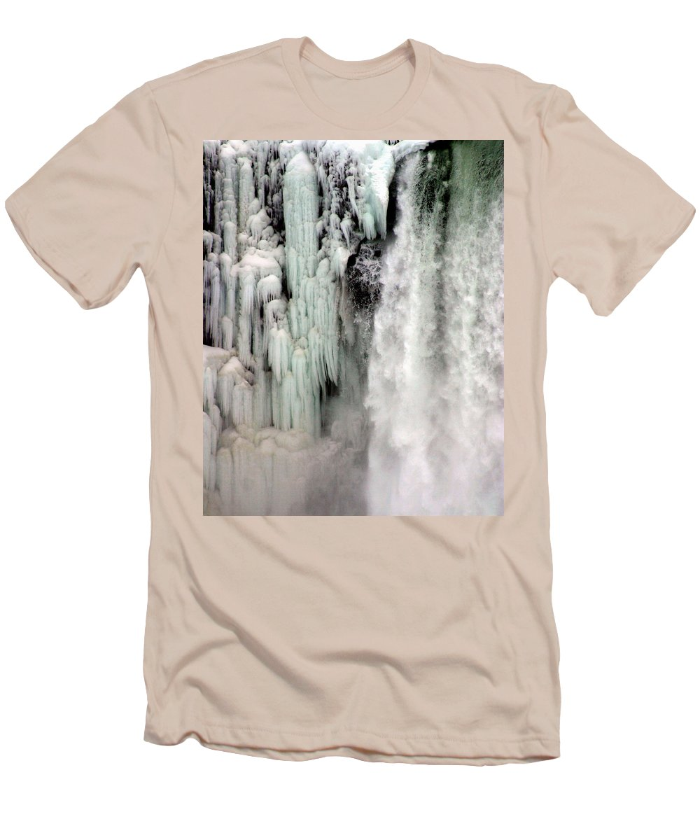 Landscape Men's T-Shirt (Athletic Fit) featuring the photograph Niagara Falls 5 by Anthony Jones