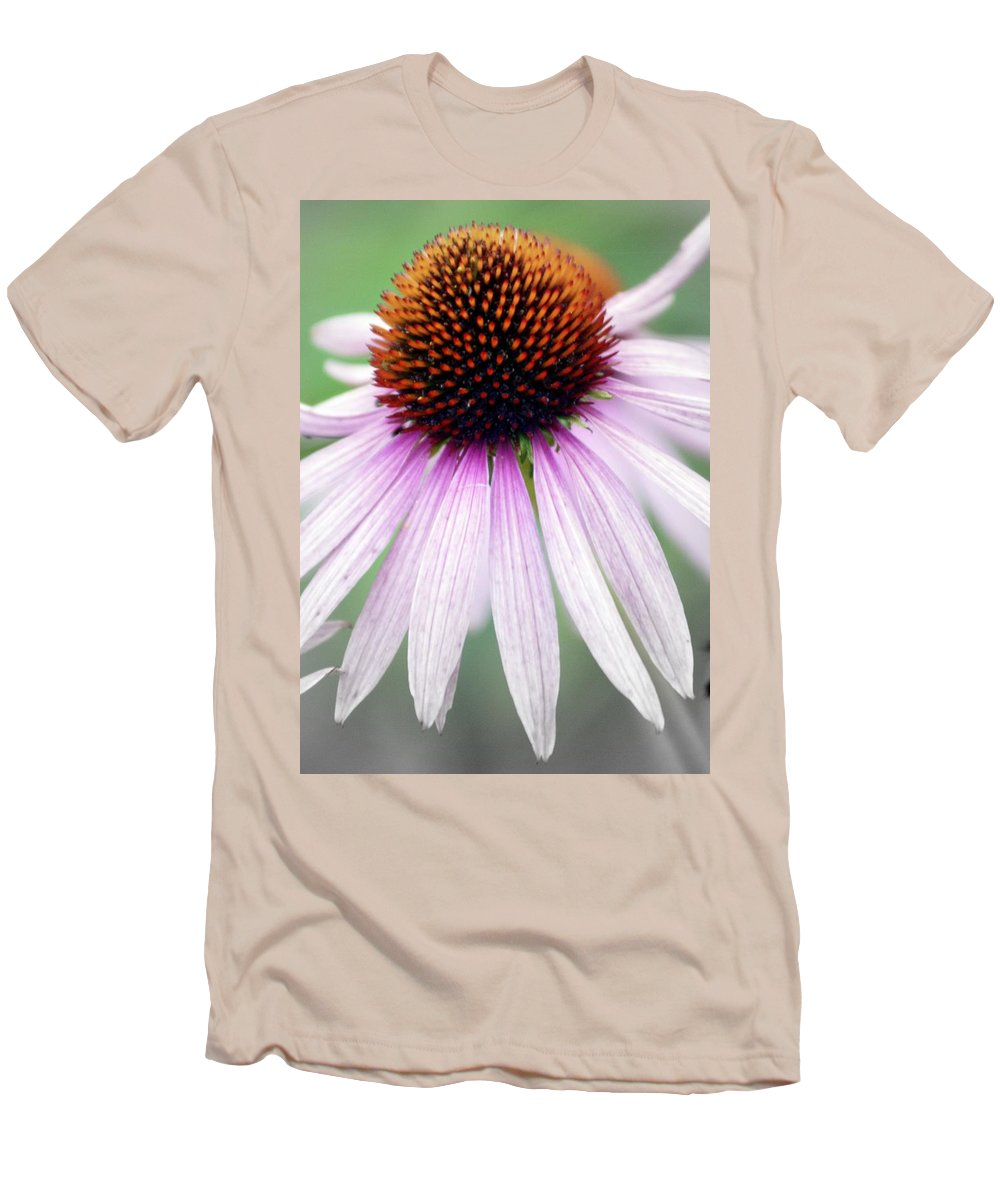 Flowers Men's T-Shirt (Athletic Fit) featuring the photograph Pale Grey by Marty Koch