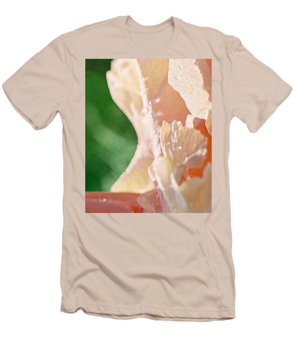Abstract Men's T-Shirt (Athletic Fit) featuring the photograph panel two from Iris by Steve Karol