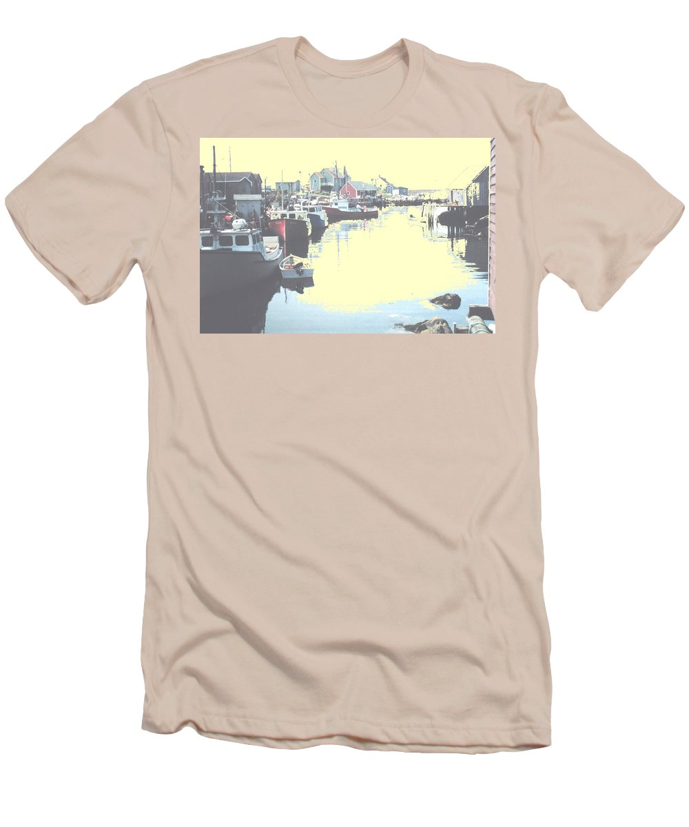 Nova Scotia Men's T-Shirt (Athletic Fit) featuring the photograph Peggy by Ian MacDonald